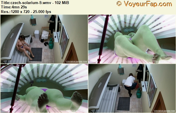 Video Voyeur Solarium 45
