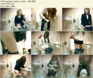 Konbini Toilet 1