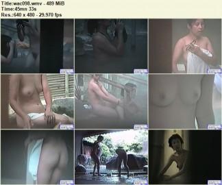 露天風呂 wac098