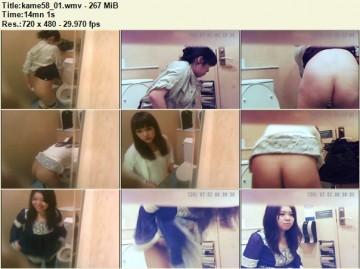 Kame Toilet 58
