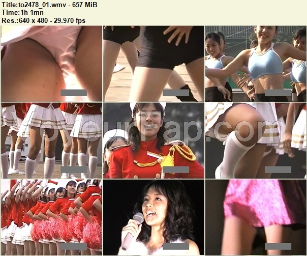 Cheerleaders Candid to2478_01