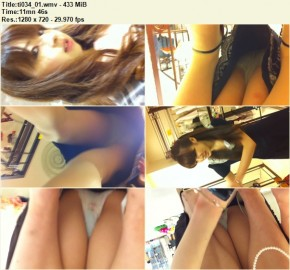 Upskirts in Shopping Mall ti034_01