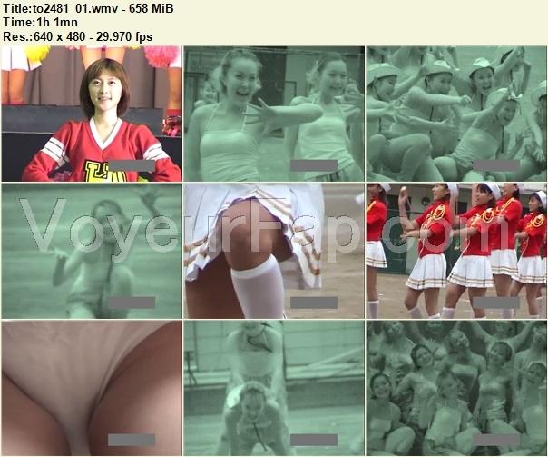 Cheerleaders Candid to2481_01