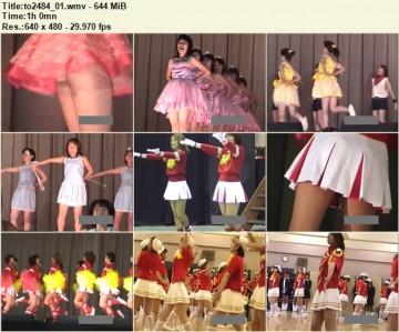Cheerleaders Candid to2484_01
