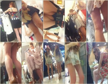 Upskirts in Shopping Mall ap19-27
