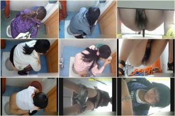 洗面所で暗躍する撮師たちの潜入記Vol.40