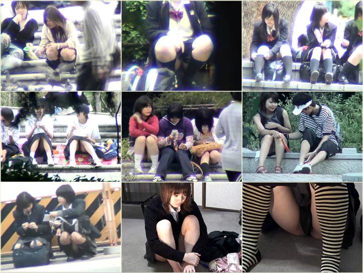 スカートの中へZOOOOOM_IN!!, Peeping-Eyes Upskirt Voyeur, japanese upskirts, asian teen girls under skirt