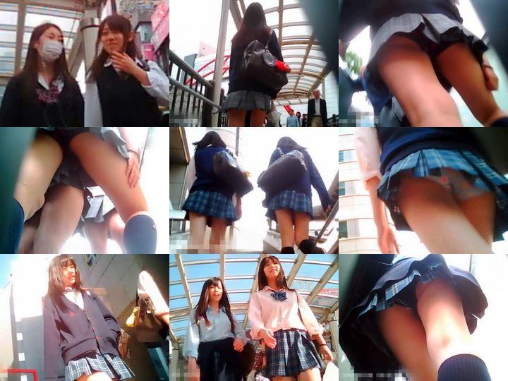 制服美少女専門!TRYKさんの密着!ストーキングPチラ File.08-13