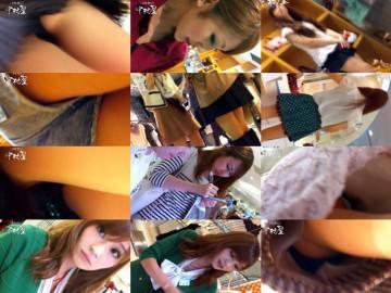 nozokinakamuraya  美人アパレル胸チラ&パンチラ パンチラね~ちゃん、ジャ●コの前♪ vol.43-49