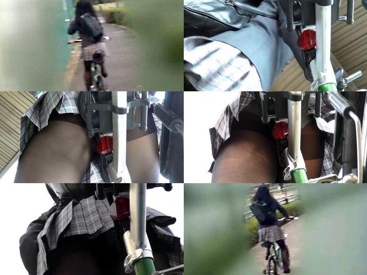 kt-joker 【自転車パンチラ】自転車パンチラ