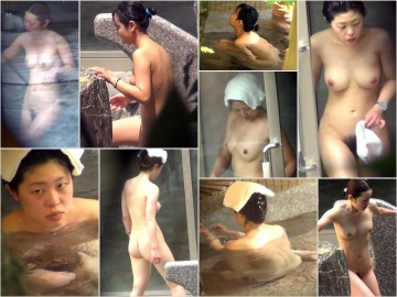 【咲乱美女温泉-覗かれた露天風呂の真向裸体-ハイビジョン】Vol.26-33