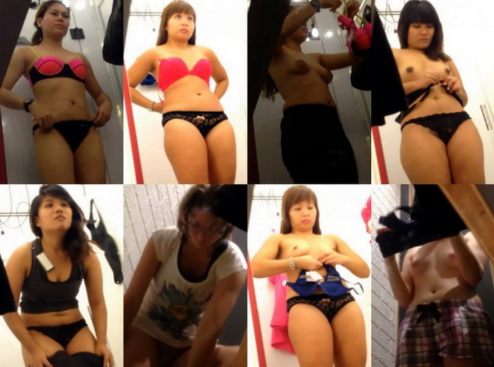 Asian changing room 7