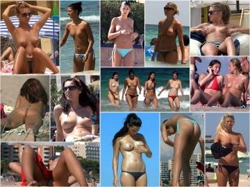 Nude Beach Voyeur ヌードビーチ盗撮 43 – 48