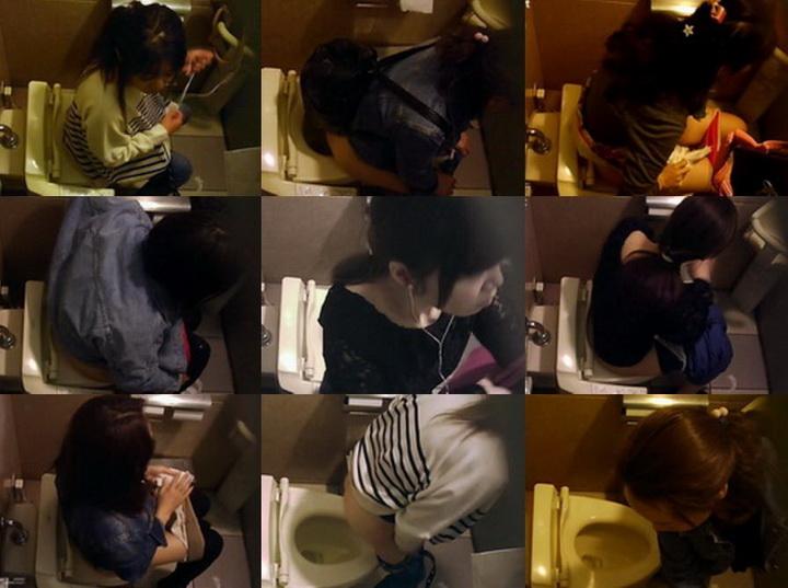 kt-joker ginga002_00   【【化粧室絵巻 ショッピングモール編】】洋式6名 驚きの行動をする嬢 化粧室絵巻