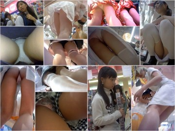 digi-tents_412  秘蔵☆白衣姿で丸見えp☆ハロウィンの日にエロいパンチラ&着替え&トイレ