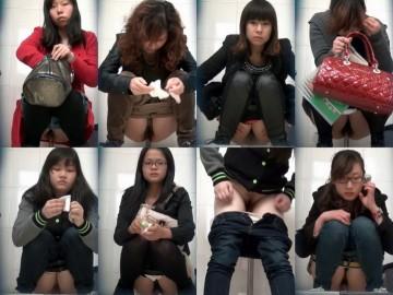 chinese girl toilet voyeur Toilet in the shopping center 4 – 5
