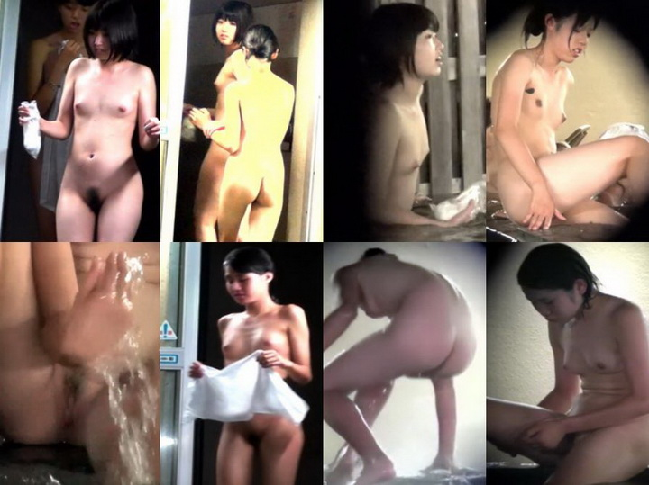 bou368 望遠盗撮。SPAでみつけた若い娘の綺麗な裸体を