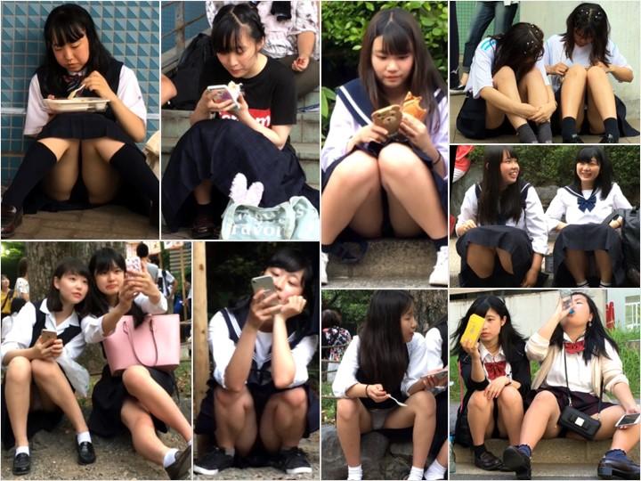 gcolle_mm108-110 【Full HD】妄想vol.108-110「制服でリラックスしているところを…」