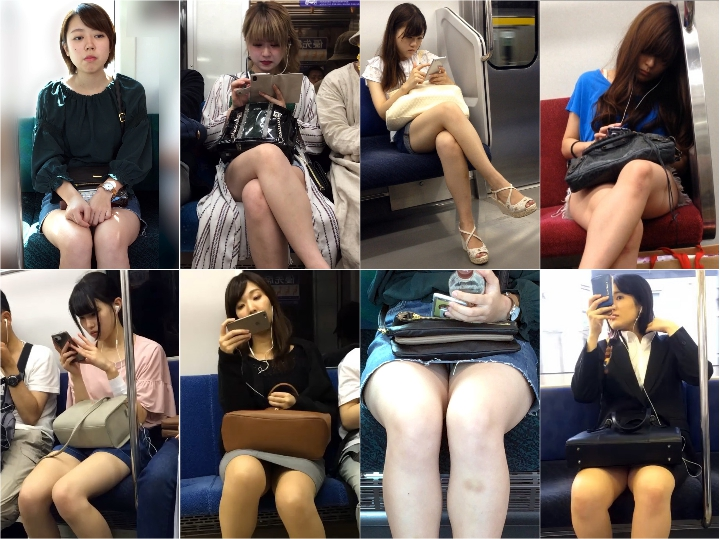 gcolle metro 6 電車内のエッチな生フトモモを見せつける女子アナ風の可愛すぎる大学生(其の四), 【撮影バレ】大股を開いた状態でずっと睨んでくる激怒就活生, 【セット販売】モデル級!綺麗すぎる生脚をさらけだすハーフ顔の美人お姉さん