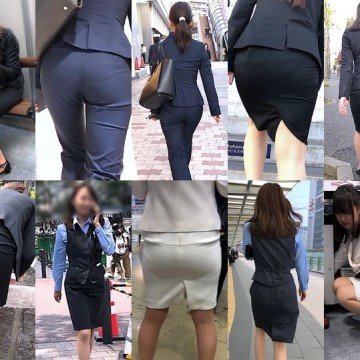 Gcolle Ass 1-3 リクルートスーツ78☆走り逃げるパンツリクスちゃん!