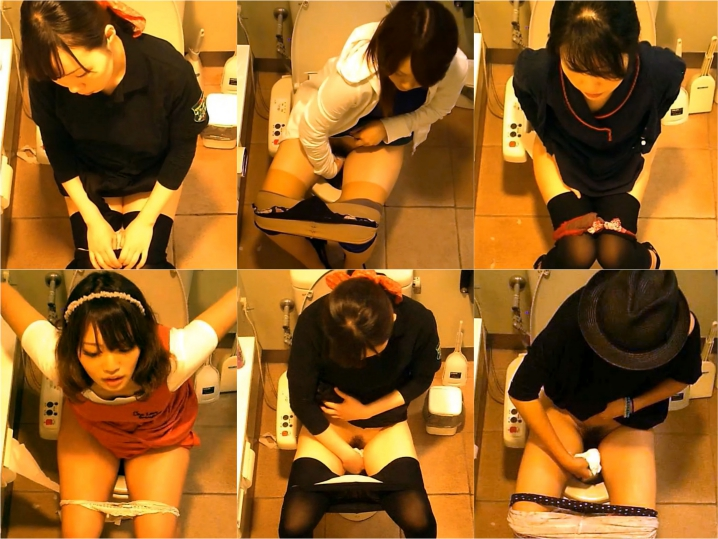 15261752 女性たちの洋式お手洗い 14(デパート編)