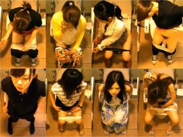 女性たちの洋式お手洗 18(デパート編)