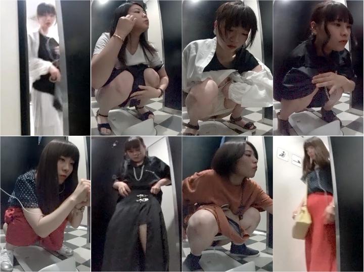 shenggaojihuoshi2daoshe 神〇の高級デパート和式トイレ2オシャレな服を着てても結局見せちゃう