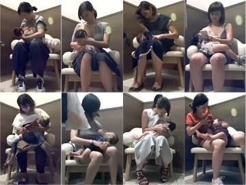 purupeep01 若ママ授乳室 No.1 総勢8名 【長時間Ver】 本編は一切修正無しです!