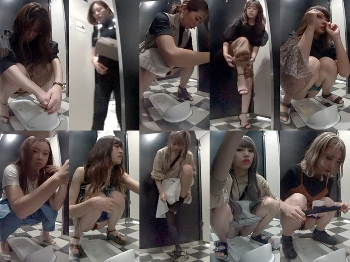 15319955 神〇の高級デパート和式トイレ芸〇人レベル以上の美女登場!全力鼻ほじギャルも撮れました