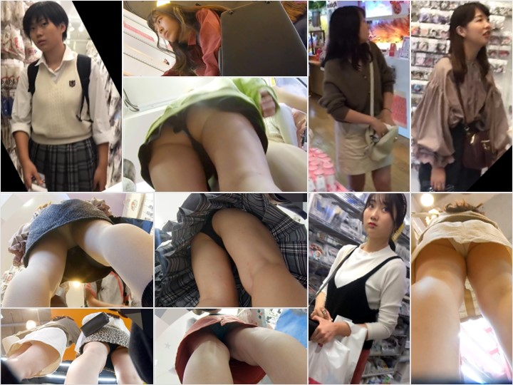 4k20200703 【5人】街撮りで美少女JK・JDちゃん達を撮り放題してきたw【4k】