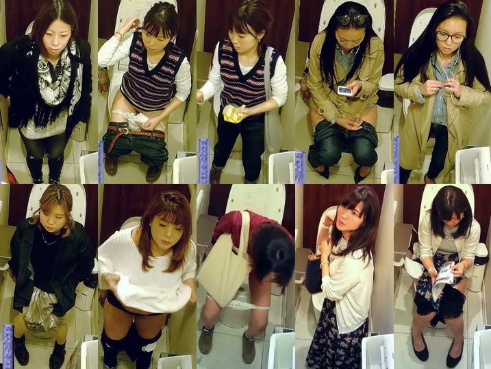 Beautiful toilet of a famous department store 1