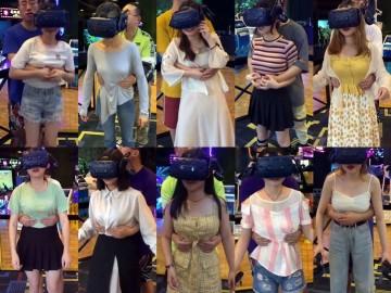 VR付けた女性客におさわり, VR体験ブースで悪戯終わりの章