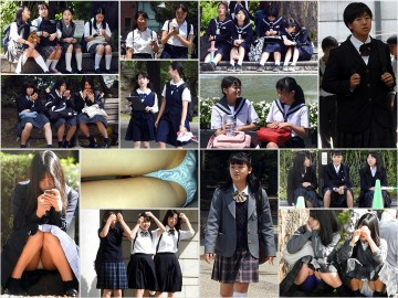 gcolle pcolle candid  駅女子