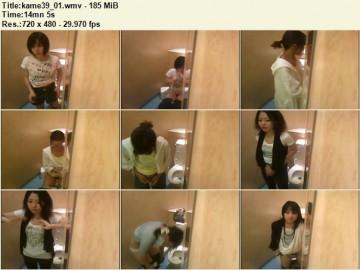 Kame Toilet 39
