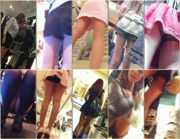 Upskirts in Shopping Mall ap04-06
