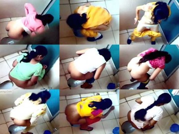 Indian Floor Toilet インドの放尿女の子盗撮