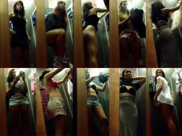 Asian changing room 9