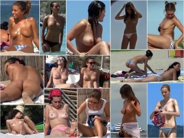 Nude Beach Voyeur ヌードビーチ盗撮 49 – 54