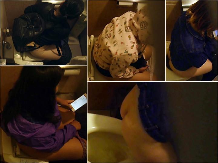 kt-joker ginga001_00   【【化粧室絵巻 ショッピングモール編】】洋式5名 むっちり女良の秘密 化粧室絵巻