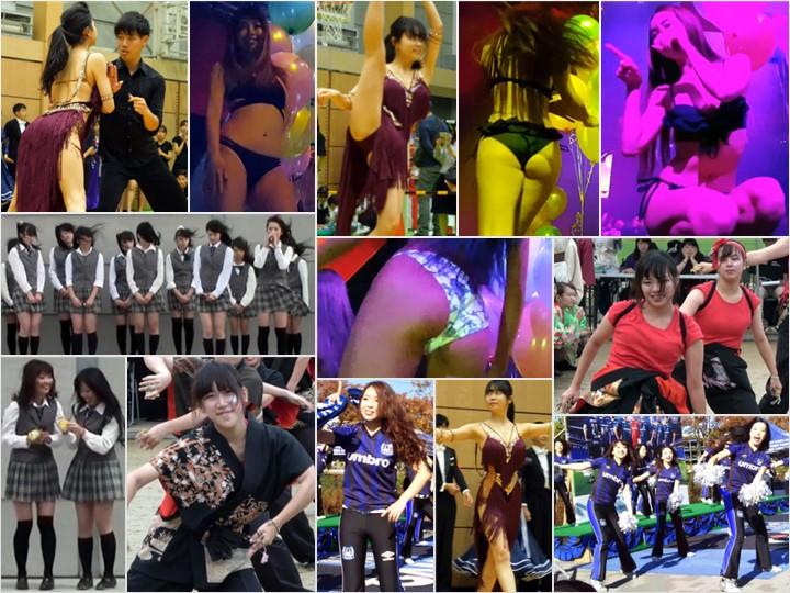 Performance_37 社会人チア, 令和販売!!4K高画質!!ダンス!!わずかな隙間から見えそうな踊り子!!n162, 【アイドル候補】制服ミニスカ強風イベント【PART2】