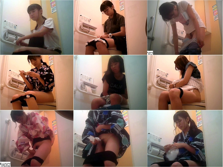 15299850 夏まつり女子トイレ☆4