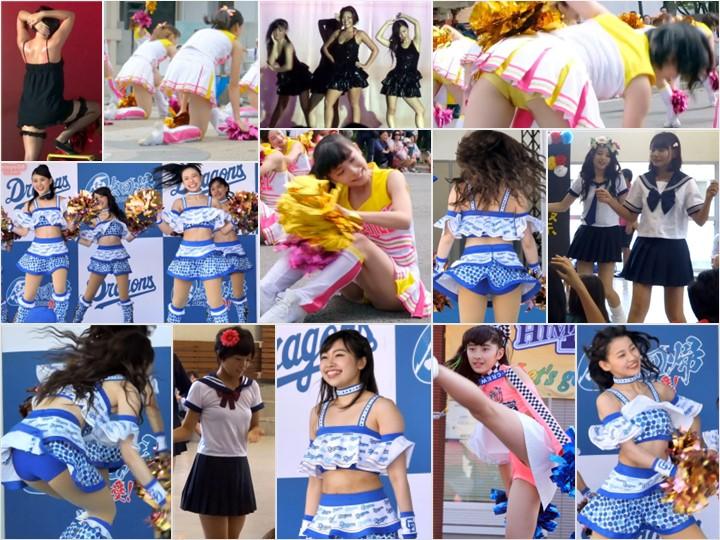 Performance_51 【4K】JKちゃんのチアダンス②, 【4Kチア】☆☆アイドルより可愛い!!JDチアダンス!4☆Part2☆