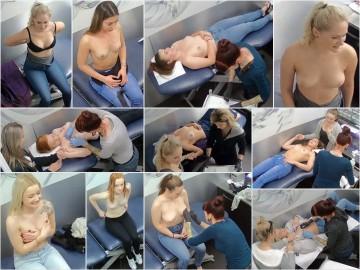 Piercing salon Hidden Camera 1-4