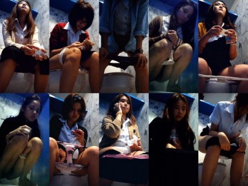 Thailand student toilet 38