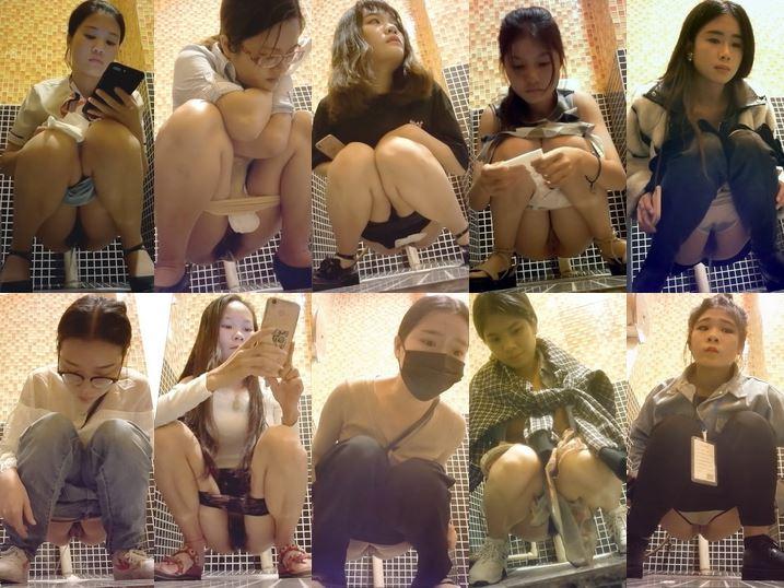 15356202 《百貨店》中国デパート女子トイレ…①洗練された/綺麗な娘多い!【42分/2017~19年】