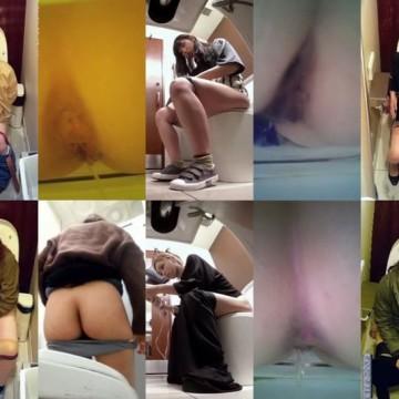 無】週末価格JK~熟女30名以上※洋式トイレ3カメスペシャル詰め合わせ