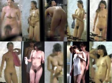 【JK風】部活で引き締まった体は最高♥合宿先ホテル♥集団女子風呂 5